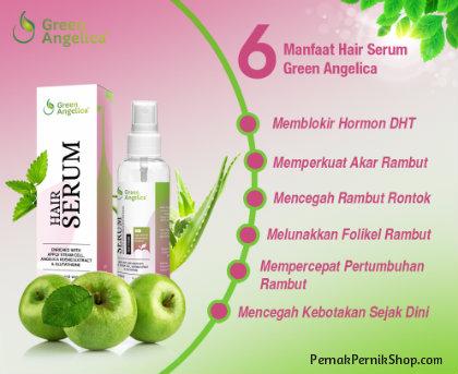 green angelica hair serum