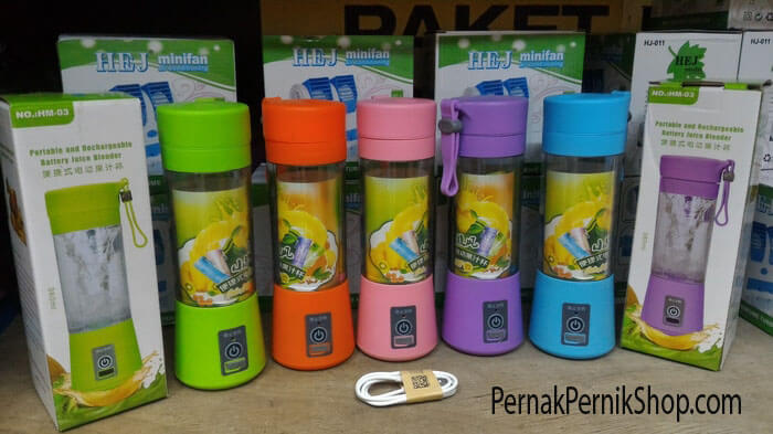 pilihan warna blender portable
